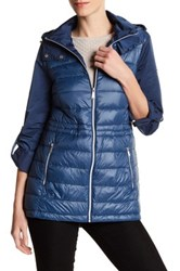 Bcbgeneration Missy Channel Quilted Jacket Blue