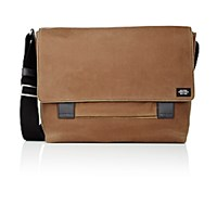 Jack Spade Men's Waxwear Field Messenger Bag Dark Green
