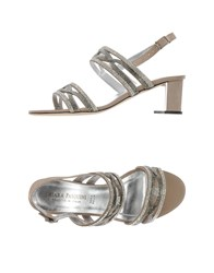 Chiara Pasquini Footwear Sandals Women Gold