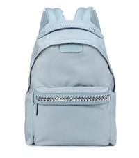 Stella Mccartney Falabella Go Backpack Blue