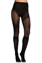 Pretty Polly Secret Socks Over The Knee Black