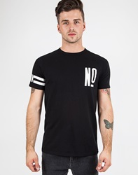 Edwin Numbers T Shirt Black