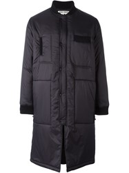 Henrik Vibskov Padded Coat Black