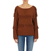 Ulla Johnson Women's Lordes Baby Alpaca Sweater Red