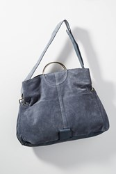 Anthropologie Leibeskind Genova Tote Bag Blue