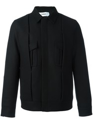Chalayan Pleated Jacket Black