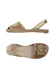 Macarena Footwear Sandals Gold