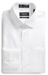 Men's Big And Tall Nordstrom Smartcare Traditional Fit Solid Dress Shirt White