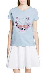 Kenzo Women's Embroidered Tiger Crewneck Tee
