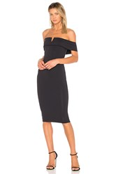 Donna Mizani Thalia Midi Dress Black
