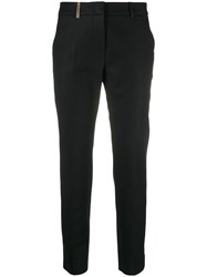 Peserico Cropped Slim Fit Trousers 60