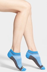 Zella 'Barre' Ankle Socks Blue Palace Charcoal