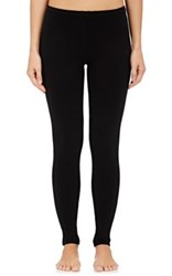 Arlotta By Chris Arlotta Women's Soft Fine Gauge Knit Leggings Black