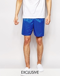 Reclaimed Vintage Pe Shorts Blue