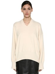 Sportmax Cashmere Knit Sweater White