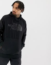 The North Face Techn O Logo Hoodie In Black