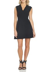 1.State Women's Keyhole Back Fit And Flare Dress
