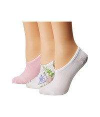Converse 3 Pack Multi Hawaiian Floral Print Made For Chuck White Cherry Blossom Crew Cut Socks Shoes