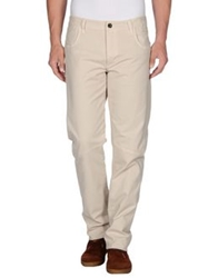 Camouflage Ar And J. Casual Pants Beige