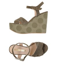 Atos Lombardini Sandals Military Green