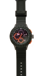 Marc By Marc Jacobs Buzz Track Watch Black Black