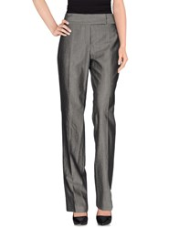 Boss Black Trousers Casual Trousers Women Grey
