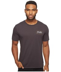 Brixton Jolt Short Sleeve Premium Tee Washed Black Men's T Shirt