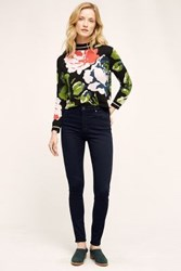 Anthropologie Ag Farrah High Rise Skinny Jeans Wind Echoes