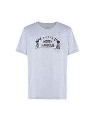 Makia T Shirts Light Grey