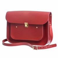 N'damus London Apple 13 Inches Pocket Satchel Red