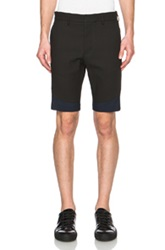 Opening Ceremony Tac Pique Sideline Shorts In Black