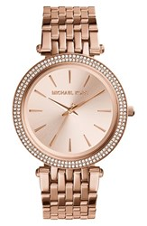 Michael Michael Kors Women's 'Darci' Round Bracelet Watch 39Mm