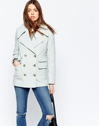 Asos Summer Peacoat Light Blue