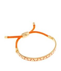 Halcyon Days Gold Heart Friendship Bracelet