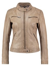 Oakwood Leather Jacket Toffee Brown