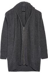 The Row Mater Oversized Cashmere And Silk Blend Cardigan