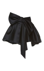 Dice Kayek Exaggerated Bow Mini Skirt Black