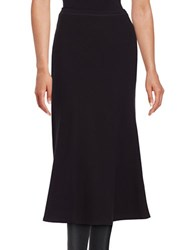 Lafayette 148 New York Long Tulip Skirt Black