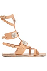 Ancient Greek Sandals Peter Pilotto Embellished Leather Gladiator Sandals