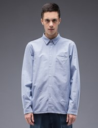 Bedwin And The Heartbreakers Shaw Side Pocket L S Oxford Shirt