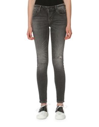 Vigoss Distressed Skinny Jagger Dark Grey