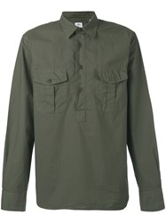 Aspesi Button Up Shirt Green