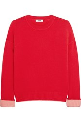 Issa Rudi Cashmere Sweater Red