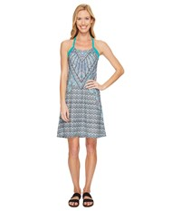 Prana Quinn Dress Dragonfly Samba Women's Dress Blue