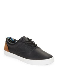 Bucketfeet Pacific Nights Leather Sneakers Black
