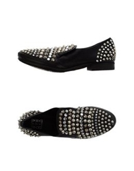 Strategia Moccasins Black