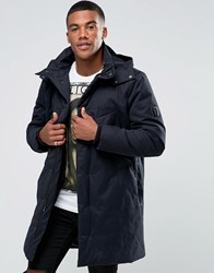Religion Parka With Packable Peaked Hood Midnight Black