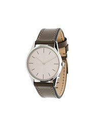 Uniform Wares C33 Two Hand Watch Metallic