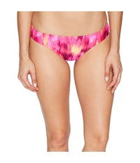 Speedo Print Hipster Bottom Granatina Women's Swimwear Black