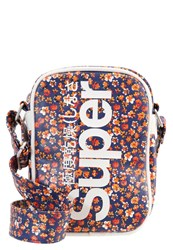Superdry Across Body Bag Red